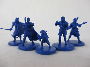 DUNGEON OF THE MAD MAGE Board Game Lot of 5 HERO Miniature Figures NEW!!