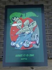 Stanley Mouse Poster 2012 Hempfest Seattle Dead & Company Fillmore Alton Kelley