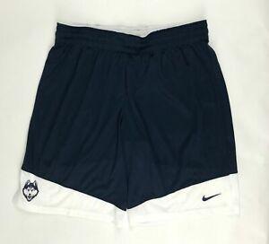 Nike Connecticut UConn Huskies Practice Basketball Short Women's M Navy 868024