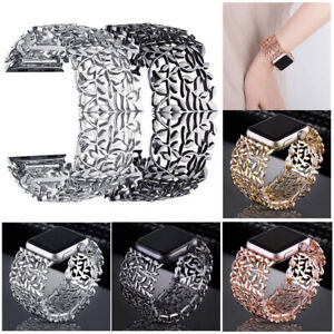 Crystal Bracelet Watch Band Wrist Strap For Apple iWatch Series 6/5/4/3/2/1 SE