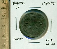 Romanus Iv 1068-1071 Christ Ic-Xc Ni-Ka Constantinople C-R P-D