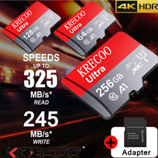 256Gb Micro Sd Memory Card Class10 Flash Tf 325Mb/s Mini for Phone Tablet Camera