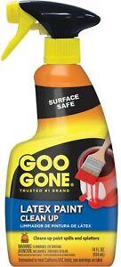 Goo Gone Heavy Duty Latex Paint Remover Clean Up Spills 14 Oz Spray Bottle
