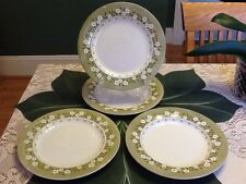 Beautiful J & G Meakin England MAYFLOWER China, 4 Dinner Plates