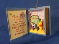 Winnie the Pooh A visit from Piglet Hallmark Keepsake Ornament 1998