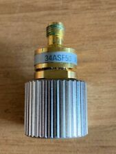 WILTRON 34ASF50 COAXIAL PRECISION ADAPTER DC to 18GHz 50 OHM gpc-7 to wsma (F)
