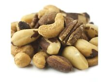 1 POUND Roasted NO SALT Deluxe Mixed Nuts Snack Fresh Sealed Package