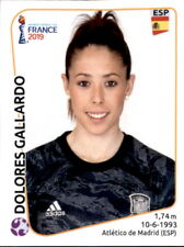 Panini Frauen WM 2019 Sticker 141 - Dolores Gallardo - Spanien