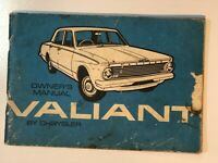 Vintage 1963 AP5 Valiant Chrysler Owners Manual