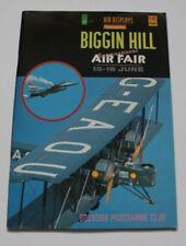 Biggin Hill 1996 Air Fair Souvenir Airshow Programme