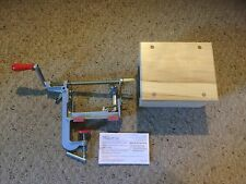 Pampered Chef Apple Peeler and Wooden Stand.  See Photos.