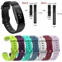 Silikon Uhrenarmband Wristband Strap für Fitbit Inspire/Inspire Ersatz Sports