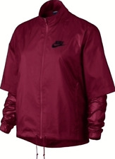 Women's Nike Sportswear Running Windrunner/Breaker Sample Red, 804542-620. S
