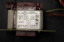 Trafo Transformator ACEM 9271041  18,5V/4A, 13V/4A, 7V1,6A  Gesamt:180VA   NOS