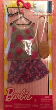 Barbie Skirt Set, Sunglasses, Purse, - Genuine Mattel Items Nrfp
