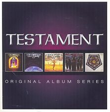 TESTAMENT ORIGINAL ALBUM SERIES 5CD ALBUM SET (2013)