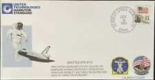 FDC~1984 UNITED TECHNOLOGIES HAMILTON STANDARD SHUTTLE STS-41G LAUNCH COVER