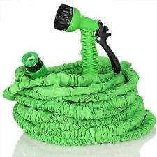 TRESKO® Flexibler Gartenschlauch 30m Wasserschlauch dehnbarer Flexischlauch