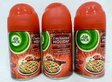 3 Air Wick Spray ENCHANTED HOLIDAY Mrs. Claus Apple Pie  6.17 oz