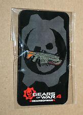 Gears of War 4 rare Xbox Collectible Lancer Pin Gamescom E3 2016