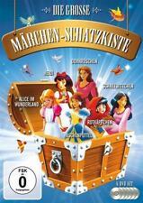 Die große Märchen Schatzkiste -  6 Trickfilme 5 Stunden  6 DVD's