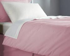 Flame Retardant Bed Linen Single Duvet Cover - Envelope End in Pink
