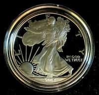 2004 W United States 1 oz Proof American Silver Eagle with Original Packaging