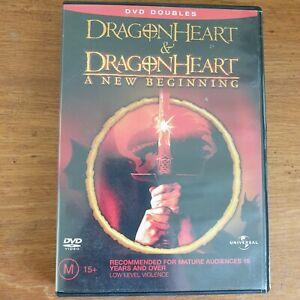 Dragonheart  / Dragonheart - A New Beginning 2DVD Set R4 - FREE POST