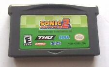 Gameboy Advance Game GBA SP DS Dsl ~ SONIC ADVANCE 2 ~ Many Fun Levels & Minis
