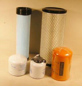 Fits Bobcat 331 334 Filter Kit Complete 6 pieces  –Top Quality  Mini Excavator