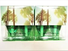 Bath Body Works Home PALM LEAVES Wallflower Refill Bulbs, NEW x 2 boxes