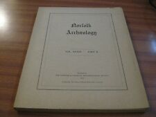 NORFOLK ARCHAEOLOGY VOL 33 PART 2 1963 GREAT YARMOUTH BARN ROAD NORWICH INTWOOD