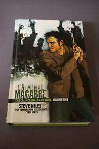 CRIMINAL MACABRE The Cal McDonald Casebook HC Steve Niles Kelley Jones NM+/New
