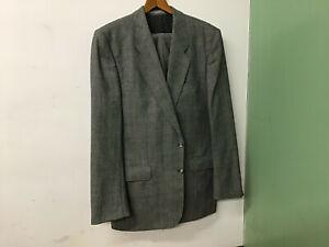 Angelo Li Trico Suit Pants Jacket & Belt Size 98