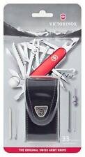 🌟🌟 1.6795 VICTORINOX SWISS ARMY POCKET KNIFE SWISS CHAMP SWISSCHAMP WITH POUCH