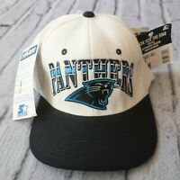 Vintage New Carolina Panthers Fitted Hat Cap by Starter