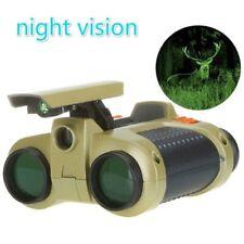 4x30mm Night Vision Viewer Surveillance Spy Scope Binoculars P op-up Light New