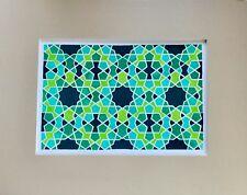 Original Traditional Geometry Art-Pattern-Decorative-Gift Idea- G34