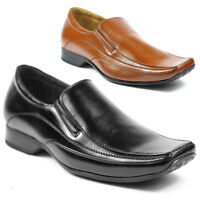 Delli Aldo Mens Slip on Loafers Dress Classic Shoes w/ Leather Lining MFA-19030