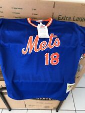 New Tork Mets Mitchell And Ness Authentic Batting Jersey Size 52 Strawberry Nwt