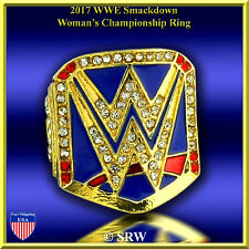 2017  Smack Down Womens Championship Finger Ring SIZE 7.25 .