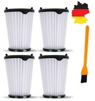4× Filter Mit Reinigungsbürste Für AEG CX7 CX7-2 AEF150 Staubsauger Zubehör