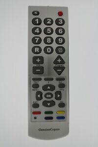 Replacement Remote Control for Pioneer service-tv-menu TVs 9th gen