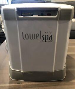 Brookstone Towel Spa Warmer Heater Blanket Robe TSK-5201MA - Cleaned & Tested