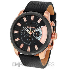 **NEW** DIESEL MENS STRONGHOLD CHRONOGRAPH ROSE GOLD WATCH - DZ4347 - RRP £259