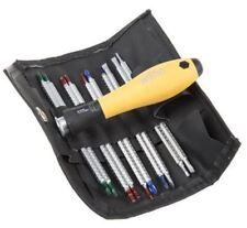 Wiha Tools Screwdriver Set, 11 Piece - Interchangeable Slotted; Phillips; Torx;