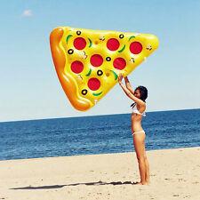 Summer Pizza Schwimmbecken Aufblasbare Outdoor Swimming Float für Erwachsene Fun