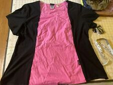 Baby Phat Red Size 3Xl Nursing Scrub Uniform Nwt 26843 Pink - Black