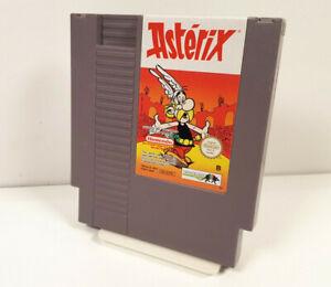 ASTERIX ~ Nintendo NES PAL B FRA Spiel Nur Modul VGC sgZ Sammlung +org Schuber