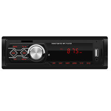 Car MP3 Radio Player Receiver Stereo Audio In-Dash FM Aux Input 2 Way Output